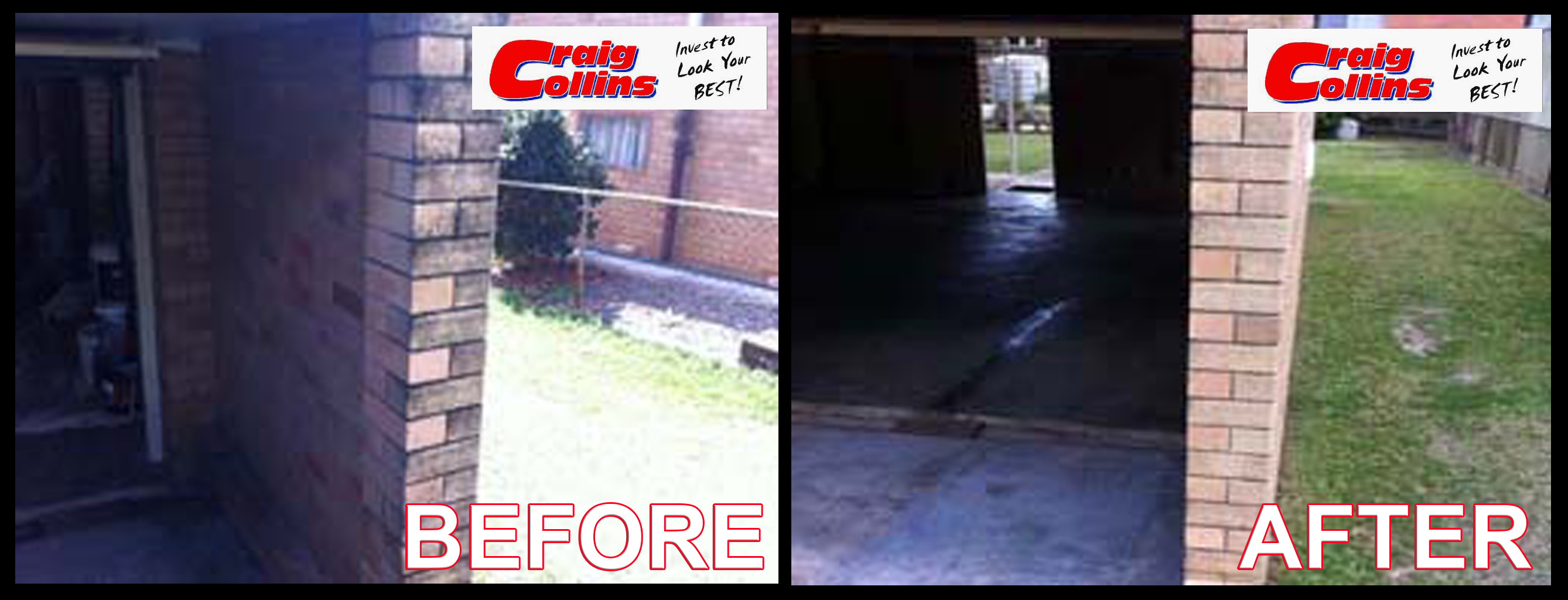 Pressure wash Before-after 3